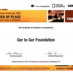 Zanjan Fromer - National Geographic Society - GER ot GER Foundation