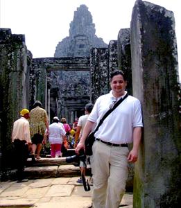 Zanjan Fromer - in Cambodia