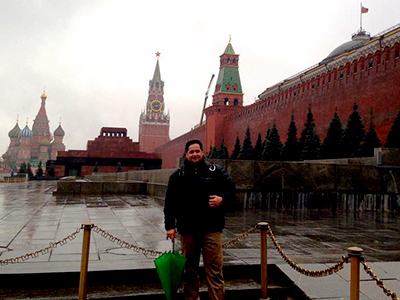 Zanjan Fromer - in Russia